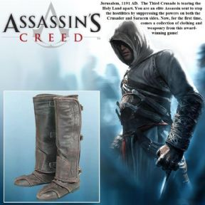 Altair Boots - Assassins Creed Footwear